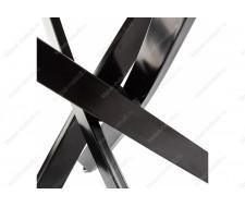Стол стеклянный Komo Black