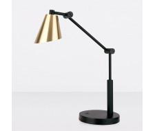 Светодиодная настольная лампа для рабочего стола Fabula сатинированное золото (TL70100)
