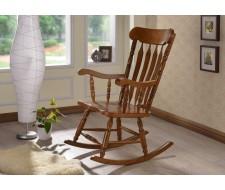 Кресло-качалка AWR-1002-AHN (темный дуб)
