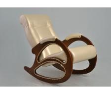 Кресло-качалка Комфорт (мод.4/Or.Perlam-106) Жемчужный
