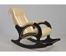 Кресло-качалка Комфорт (мод.44/Дунди-112/Венге)