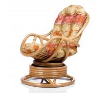 Кресло-качалка Kara (Dark Br.-MATT) с подушкой Орех