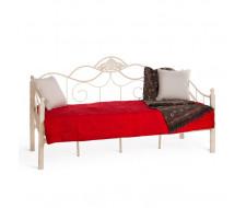 Кровать CANZONA Wood slat base 90х200 см, Белый (butter white)