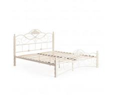 Кровать CANZONA Wood slat base 160х200 см, Белый (butter white)