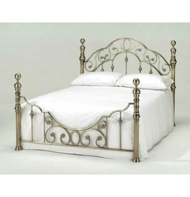 Кровать Victoria 160х200 см Antique Brass