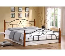 Кровать мод. 808 (Alexa-160х200) Темный орех