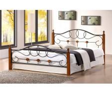 Кровать мод. 822 (Hava-160х200) Темный орех