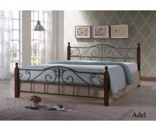Кровать Адель (Adel 160х200) Темный орех