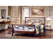 Кровать Амбер (160х200) Майер браун