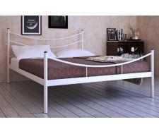 """Кровать односпальная """"LUNA"""" (120х200/металлическое основание) Белый"""