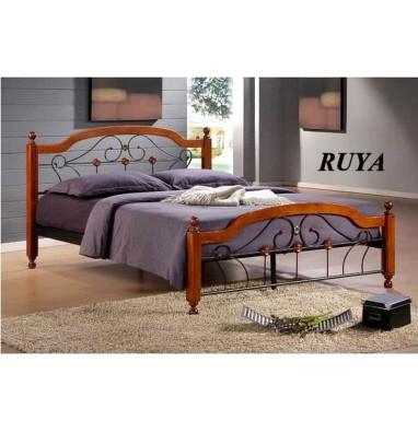 Кровать Ruya (160х200) Темный орех