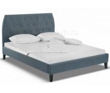 Кровать двуспальная Poli 160х200 blue