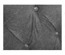 Кровать двуспальная Relax 160х200 dark grey