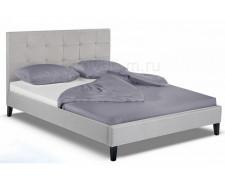 Кровать двуспальная Veronika 160х200 silver