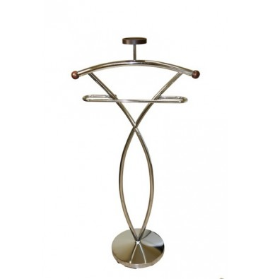 Вешалка для одежды напольная костюмная CH 4148-W Орех