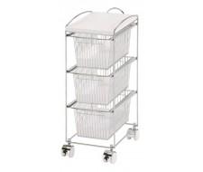 Система хранения на колесиках с выдвижными ящиками GC 1483-3