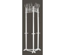 Вешалка напольная Гардикс-3 Белая